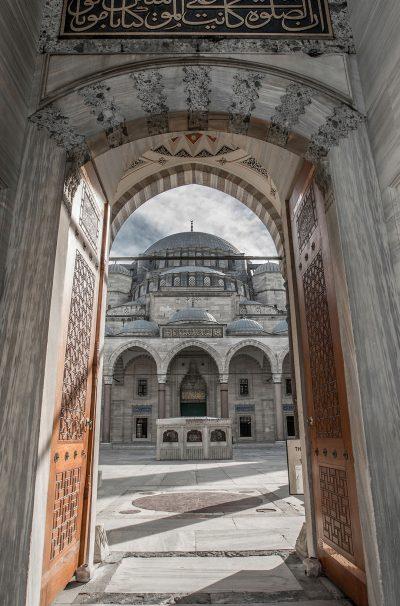 Porte Mosquée Suleymaniye